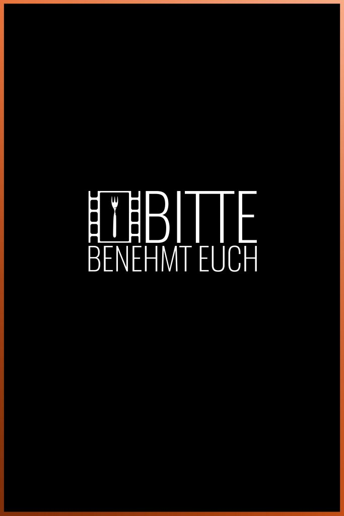 Bitte benehmt euch poster